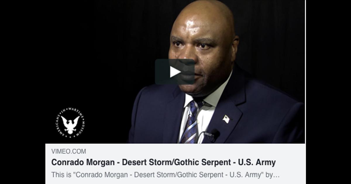 Conrado Morgan – Desert Storm/Gothic Serpent – U.S. Army